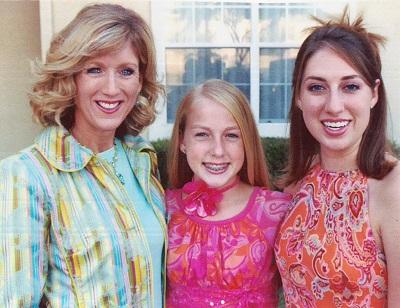 Karen Emory (12) Katie (19) in 2005
